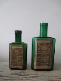 Oude Franse parfumflesjes uit Frankrijk SOLD