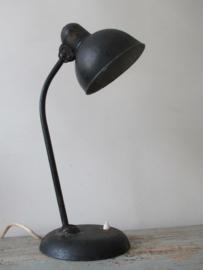 Industriele kaiser idell bureaulamp SOLD