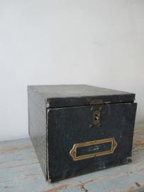 Oude archiefdoos SOLD
