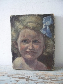 antiek portretje SOLD