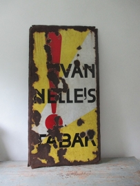 Oud emaille bord Van Nelle SOLD