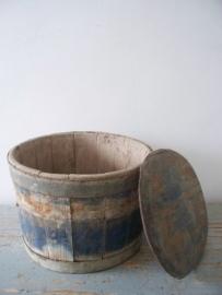 Zweedse houten tobbe / ton SOLD