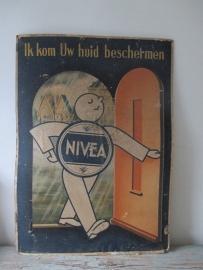 Oude reclameplaat Nivea SOLD