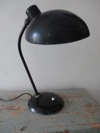 Industriele oude bureaulamp van Hala SOLD