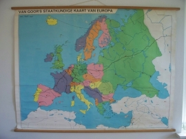 Oude schoolplaat europa SOLD