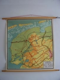 Oude schoolplaat Friesland SOLD