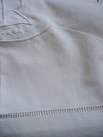 Antiek Frans linnen tafelkleed