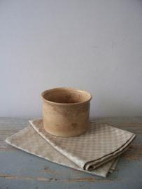 Oude franse linnen theedoeken