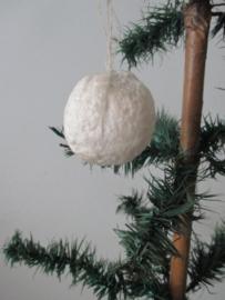 Oude sneeuwbal van watten SOLD