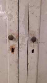 Oude houten locker SOLD