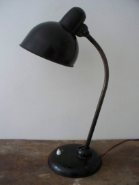 Industriele kaiser idell bureaulamp SOLD