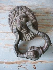 Antieke bronzen deurklopper SOLD