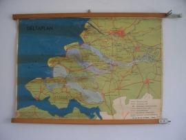 Oude schoolplaat Delta plan SOLD