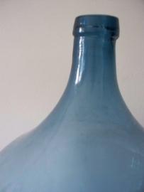 Glazen fles / gistingsfles XL blauw SOLD
