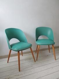 Retro vintage stoeltjes SOLD