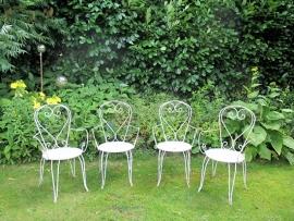 Franse tuinstoeltjes SOLD