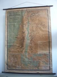 Oude schoolplaat Palestina SOLD