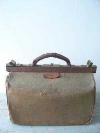 Oude Franse linnen tas SOLD