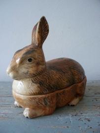 Franse terrine  konijn SOLD