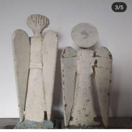Antieke houten engelen