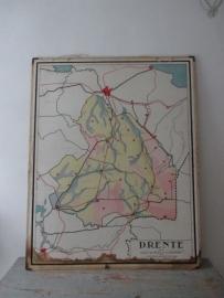 Oude schoolplaat Drenthe SOLD