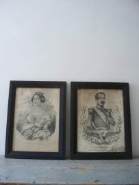 Napoleon en Joséphine SOLD
