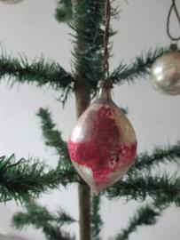 Oude antieke kerstbal
