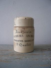 Oude sardine pot SOLD