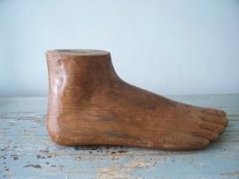 Oude houten voet SOLD