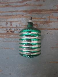 Oude antieke kerstbal / lampion
