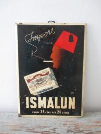 Oude reclameplaat SOLD