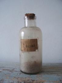 Oude apothekersfles SOLD