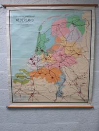 Oude schoolplaat Nederland
