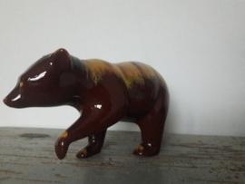 Retro vintage beeld van een beer