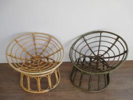 Vintage rotan stoelen SOLD