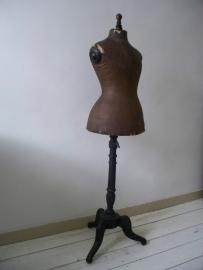 Antieke kinderpaspop van stockman SOLD