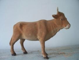 kerststal koe floc / chenile SOLD