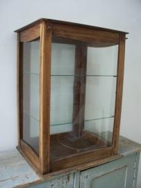 Oude Franse toonbank vitrine SOLD