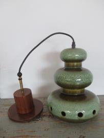 Vintage retro hanglamp Skandinavisch design SOLD