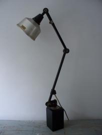 Industriele bureaulamp / wandlamp Midgard SOLD
