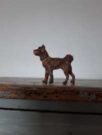 Oud hondje ( elastolin ) SOLD