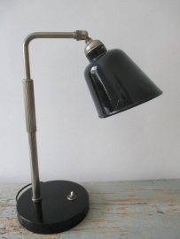 Industriele oude bureaulamp SOLD