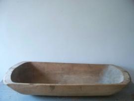 Oude Franse houten trog SOLD