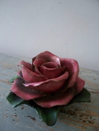 Frans bloemornament SOLD