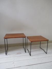 Retro tafeltjes van brabantia SOLD