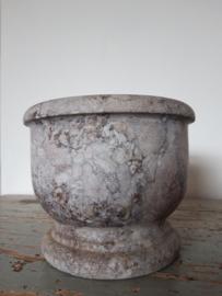 Antieke vijzel marmer SOLD