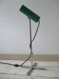 Industrieel oud bureaulampje retro/vintage SLD
