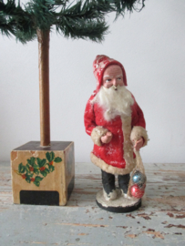 Oude kerstman / candycontainer Sold