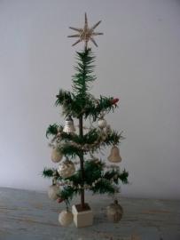 Antieke ganzeveren kerstboom SOLD