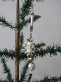 Oude kerstbal / gablonz SOLD